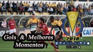 Atlético-GO x Criciúma - Gols & Melhores Momentos Brasileirão Série B 2018