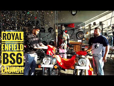 royal-enfield-bs6-launch-@-mpire-motors.-bs6-new-bullet-launch-video.