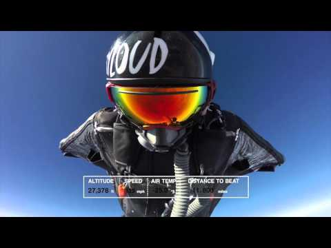 World Record Breaking Wingsuit Flight