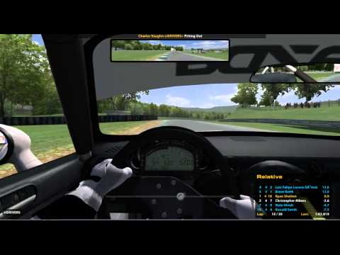 iRacing - My First Win - Lime Rock - Leads 20 laps