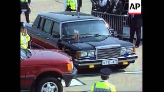UK - G8 members arrive for summit