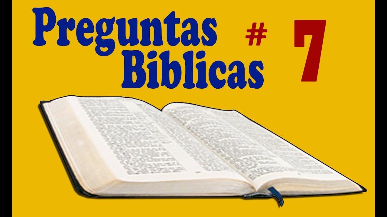 20 preguntas biblicas 7 para jovenes y adultos youtube