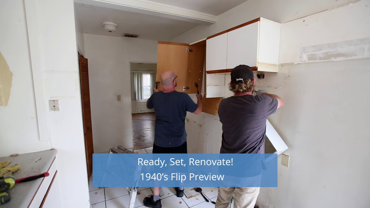 Show Preview - Ready Set Renovate 1940's Flip