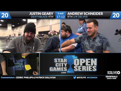 SCGKNOX - Legacy - Semifinals - Andrew Schneider vs Justin Geary