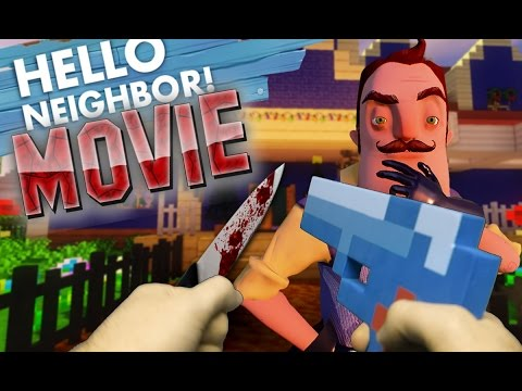 Minecraft Realistic : Hello Neighbor MOVIE - All of His SECRETS REVEALED