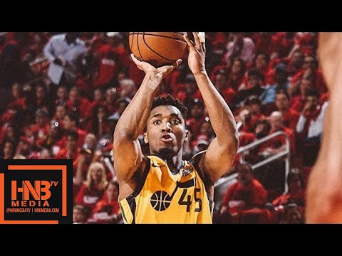 Utah Jazz vs Houston Rockets Full Game Highlights / Game 1 /