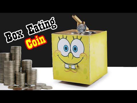 How To Make A Coin Box Saving Bank | Box DIY Craft Project