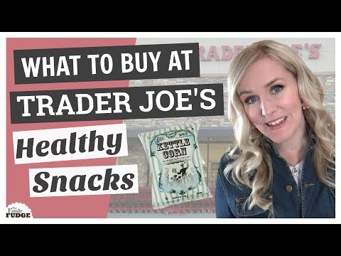 WHAT TO BUY at TRADER JOE'S || Top 5 HEALTHY SNACKS