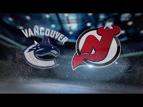 Vancouver Canucks vs New Jersey Devils - November 24, 2017 | Game Highlights | NHL 2017/18 Обзор