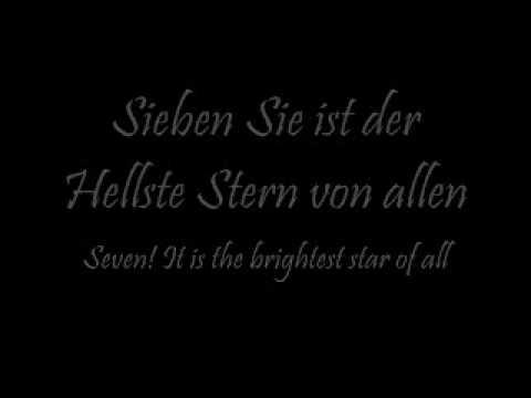 Rammstein-Sonne lyrics w/ English trans.