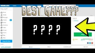 ROBLOX | BEST GAME ON ROBLOX!?!!! (MUST PLAY)