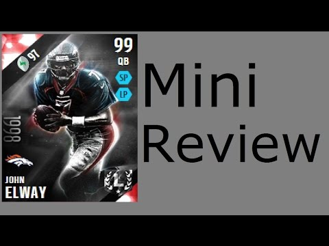 Ultimate Legend John Elway | Mini-Review | Madden 16 Ultimate Team Gameplay