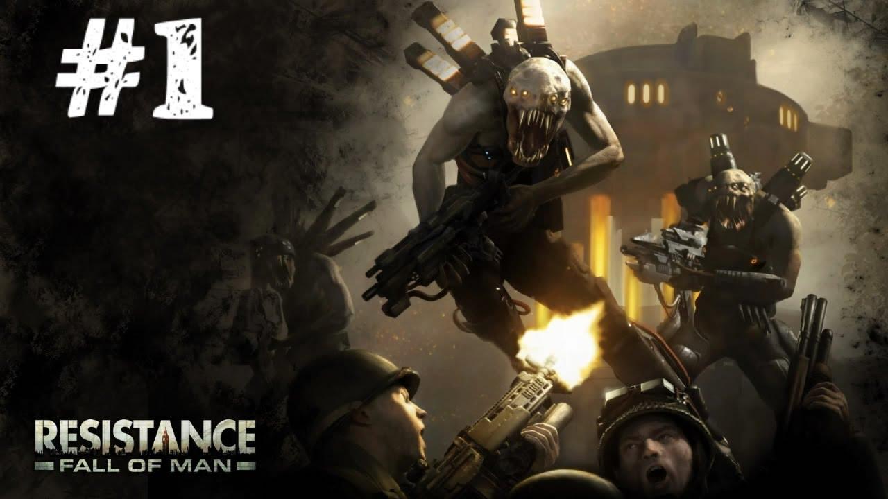 Resistance Fall Of Man Wallpaper Resistance Fall Of Man Серия 1 Альтернативная