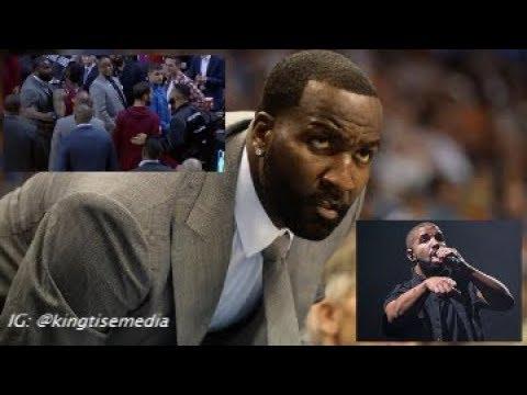 Kendrick Perkins Explains Fight w/ Drake & Drake Responds Ahead Of Cavs vs Raptors Game 2
