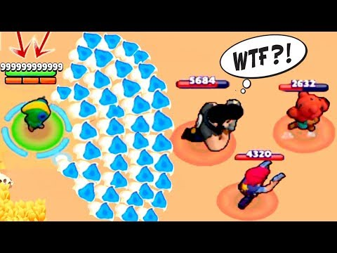 9999999 IQ LEON | BRAWL STARS Funny Moments,Montage,Fails And Wins Compilations #1