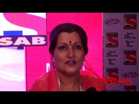 Adgully Report | Himani Shivpuri at the lunch of SAB TV