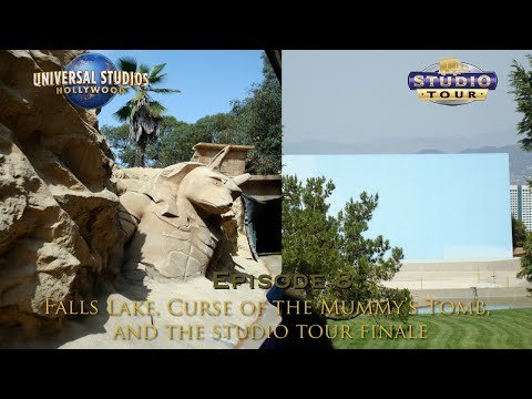 Falls Lake, The Mummy's Tomb and the Finale - USH Studio Tour
