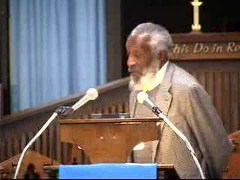 Dick Gregory Refutes Rev. Jeremiah Wright Controversy 2 of 9