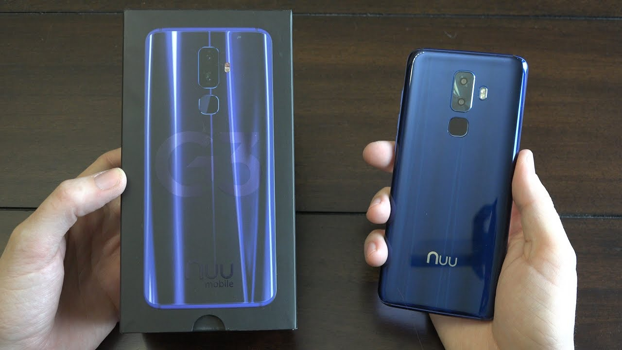 NUU Mobile G3 Unboxing!