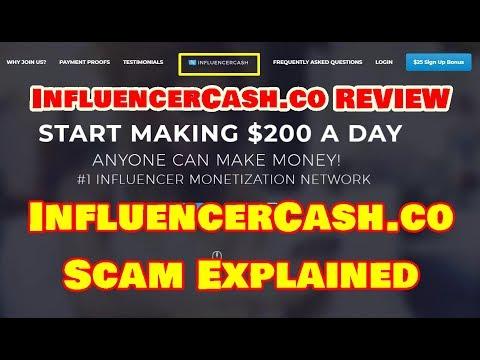 InfluencerCash.co REVIEW - InfluencerCash.co SCAM Explained