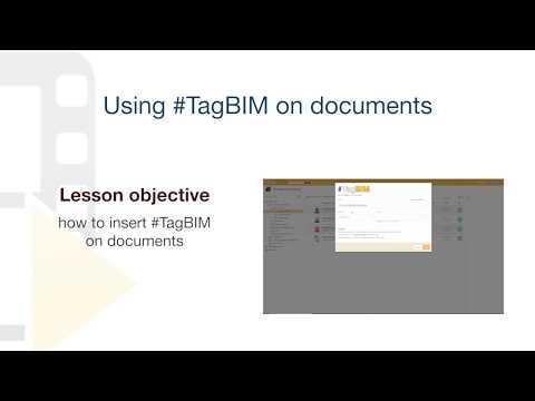 Tutorial usBIM.platform ONE - #TagBIM on documents - ACCA software thumbnail