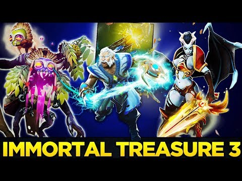 IMMORTAL TREASURE 3 FULL PREVIEW - THE INTERNATIONAL 2018 DOTA 2 TI8 thumbnail