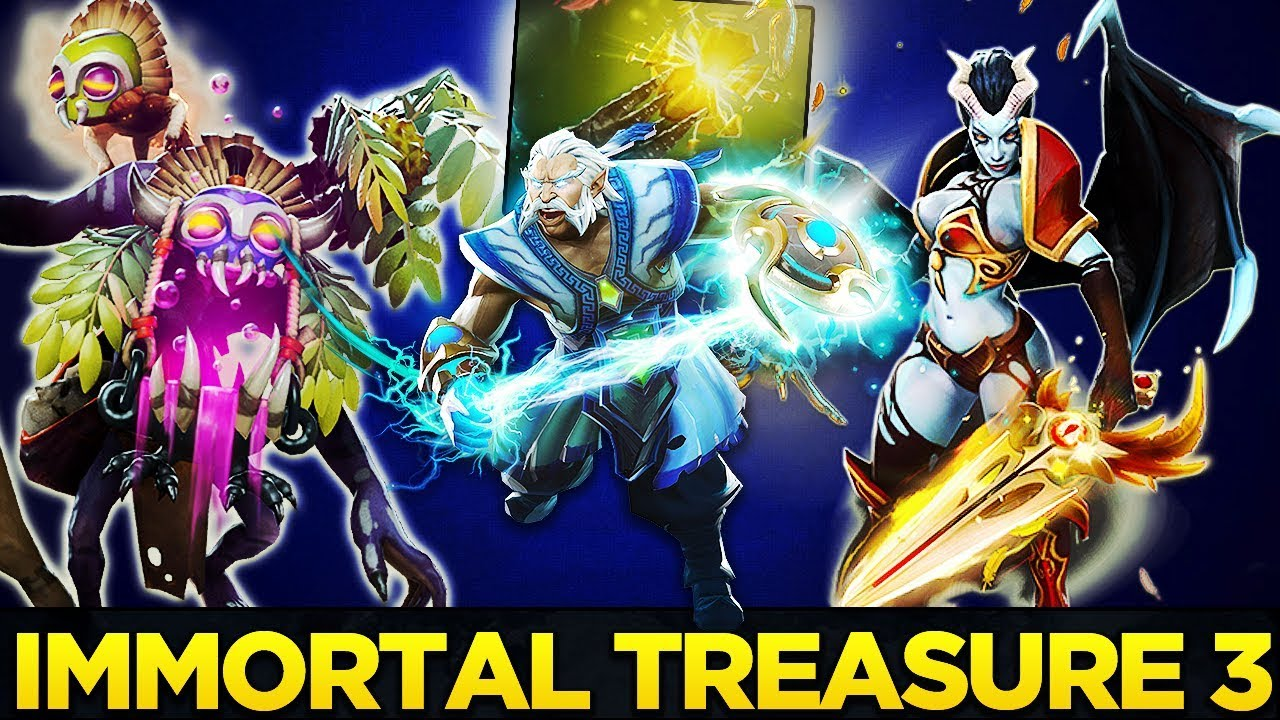 Dota 2 S Immortal Treasure 3 Launches: IMMORTAL TREASURE 3 FULL PREVIEW