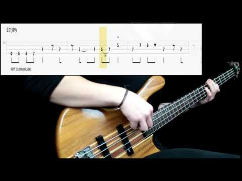 Black Sabbath - War Pigs (Bass Cover) (Play Along Tabs In Video)