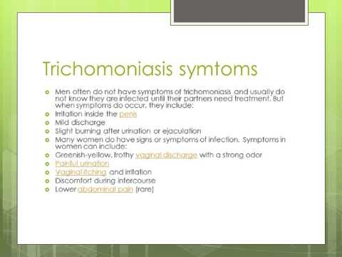 What is Trichomoniasis ?