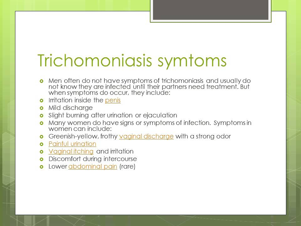 what is trichomoniasis ? - youtube, Cephalic Vein