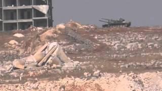 Уничтожение ATM противотанковые ракеты Сирия гражданская война танков Т 72