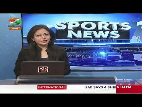 Sports News Bulletin | 13.05.2019 | DD INDIA