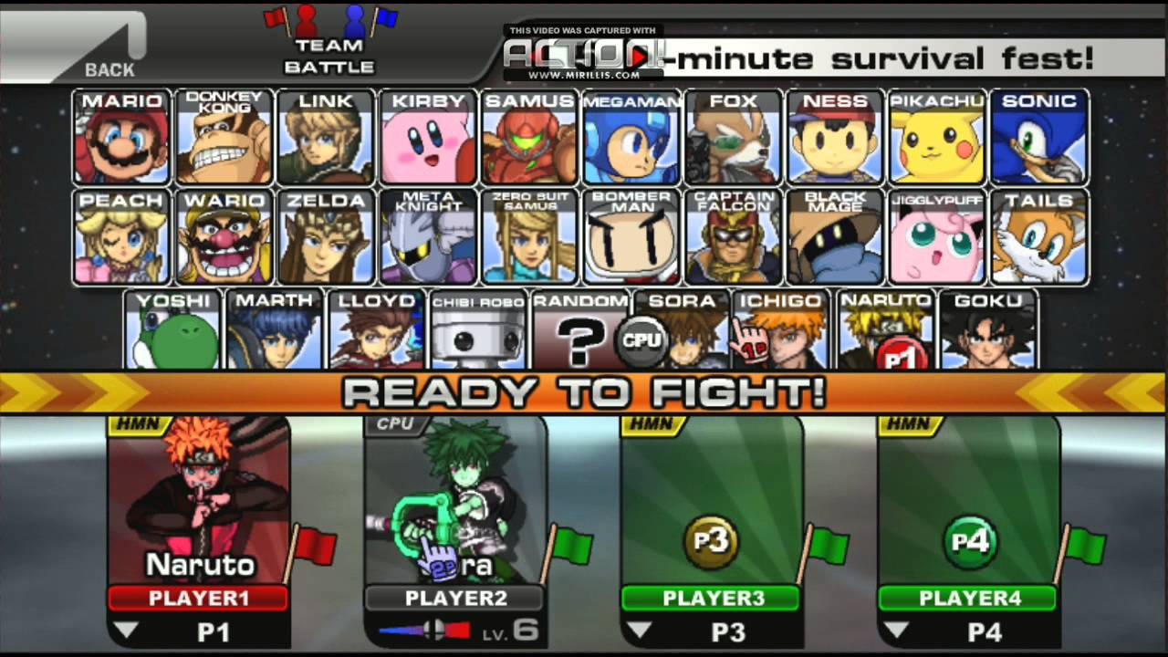 Smash Bros Flash
