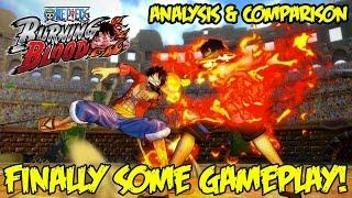 One piece burning blood: gameplay analysis! j-stars comparison, mechanics, & 4th gear luffy ultimate