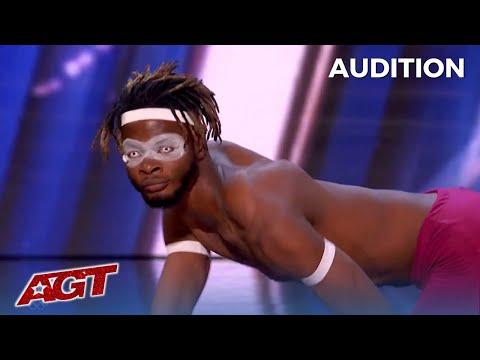 Dflex: The Most FLEXIBLE Man in Nigeria WOWS on America's Got Talent!