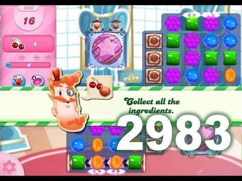 Candy Crush Saga Level 2983 (No boosters)