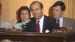 "Joe Biden slams Reagan Secretary of State on Apartheid: ""I'm ashamed of the lack of moral backbone"""