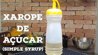 infused simple syrup