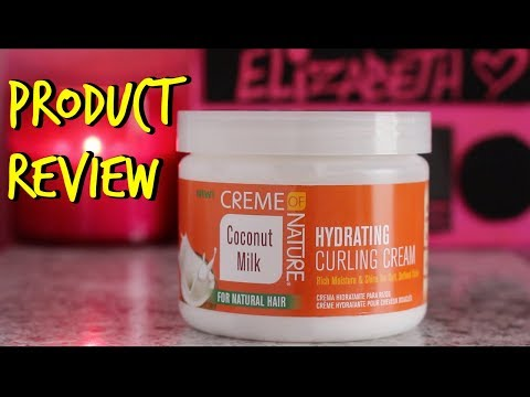 Review: Creme of Nature Coconut Milk  Hydrating Curling Cream
