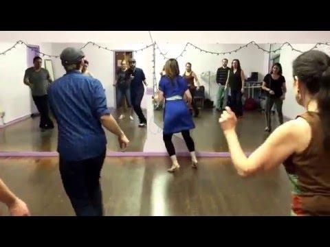 Boulder Swing Dance Dean Collins Shim Sham Part 2