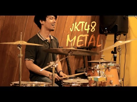 Jeje GuitarAddict - Ponytail To Shushu - (JKT48 Metal Cover) 2017