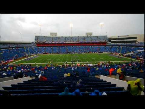 NFL Time Lapse - Ralph Wilson Stadium - Orchard Park, NY