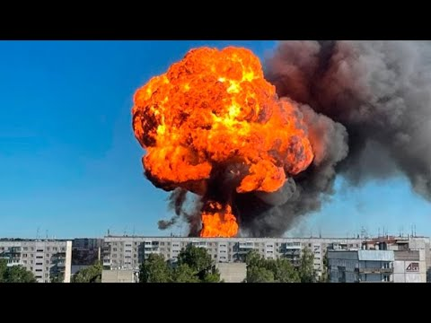 На АЗС в Новосибирске произошел взрыв