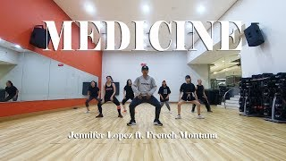 Jennifer Lopez   MEDICINE ft  French Montana Dance Choreography by Franky Dancefirst