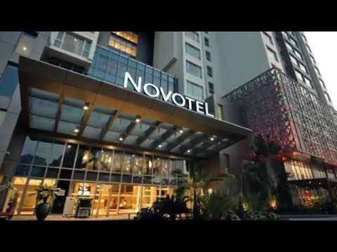 Gym, Shops, Restaurant and Bar at Novotel Yangon Max (TVC)