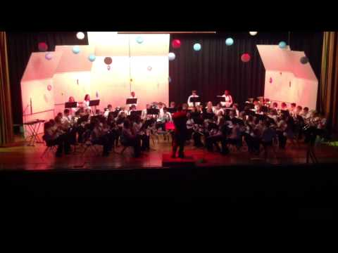 Theme to Halo - Bedford Middle School Band - May 2, 2013