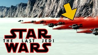 What is That Red Stuff in The Last Jedi Teaser and the Secret Rebel Base on Crait