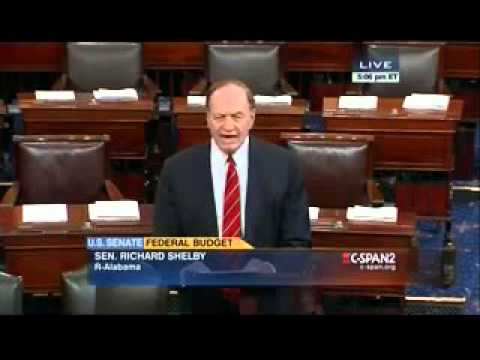Senator Shelby Talks Budget Deal on the Senate Floor