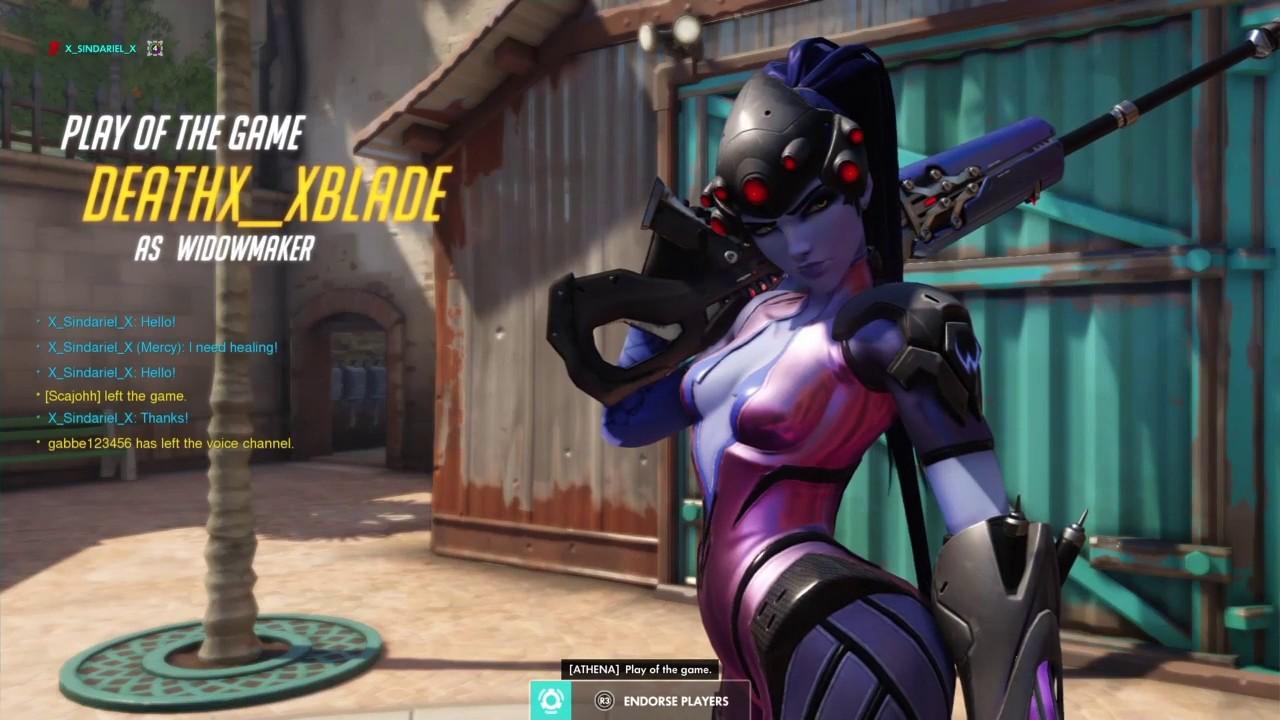 [ OVERWATCH ] :  Widow kill somebody!!! QP avec Widow