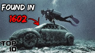 Top 10 Mysterious Artiḟacts That Likely Came From The Deep Sea